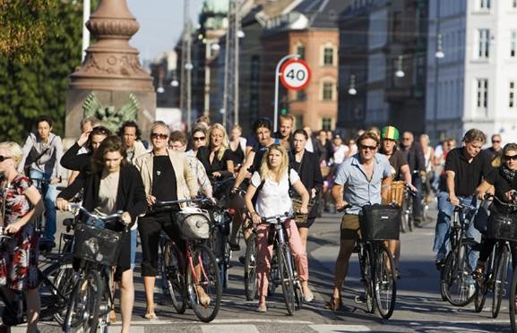 Köpenhamn cykla